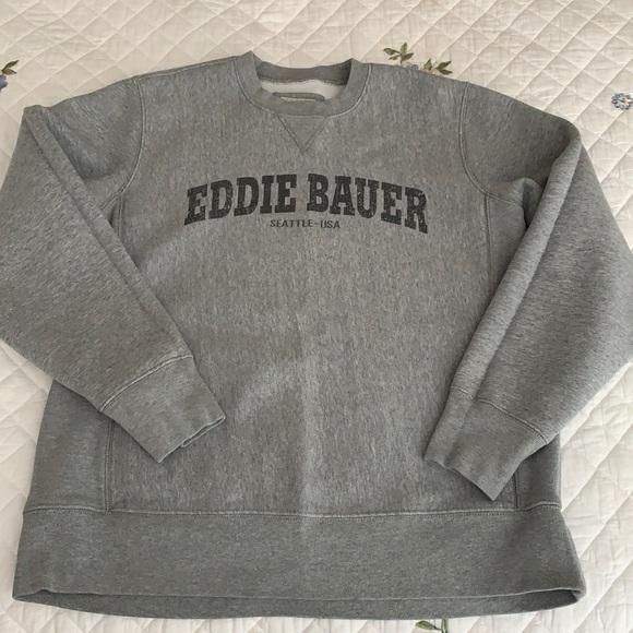 Men's L Eddie Bauer sweatshirt like new condition